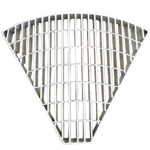 异形扇形钢格栅板
