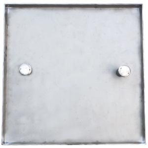 圆柱吊孔不锈钢隐形井盖